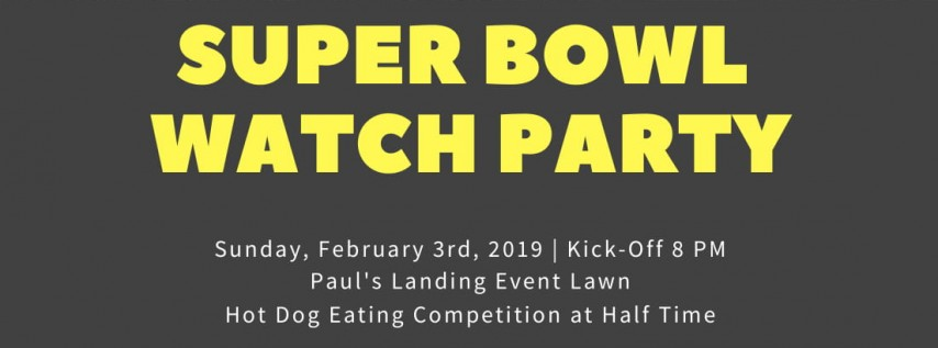 Paul's Landing Super Bowl Watch Party