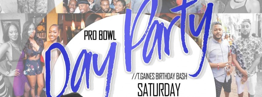 Pro Bowl Weekend Day Party at Ember