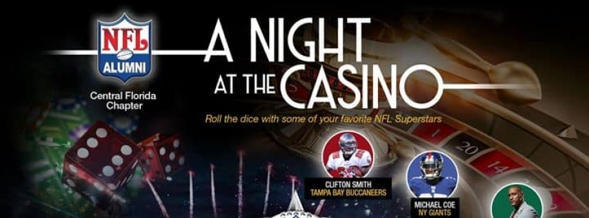 A Night At The Casino W/ The NFL Alumni CFL At Orchid Garden 2019 Pro Bowl Weekend