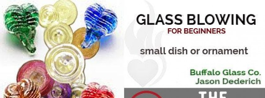 Valentines - Beginner Glass Blowing for Couples at The Foundry