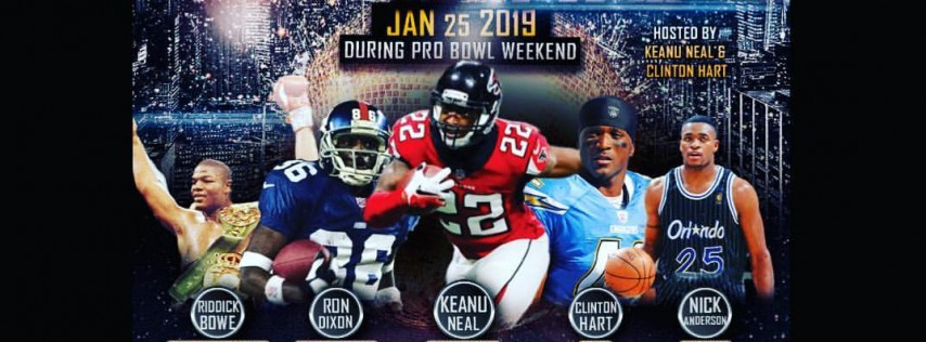 3rd Annual Celebrity Pro Bowl Party