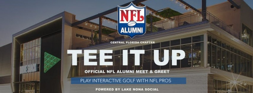 TEE IT UP: Official NFL Alumni Meet & Greet w/ Interactive Golf