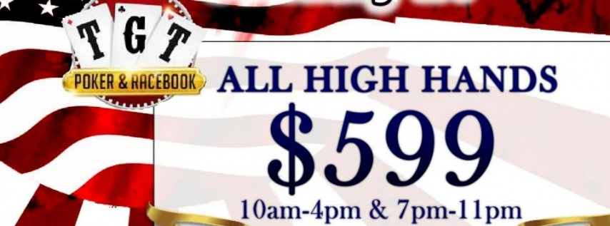 $599 High Hands MLK Promotion