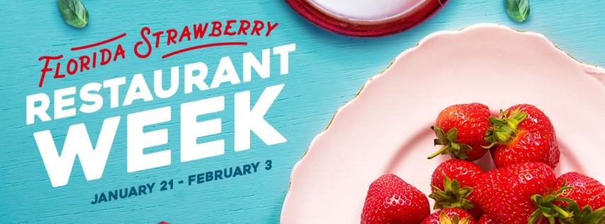 Florida Strawberry Restaurant Week and Selfie Contest