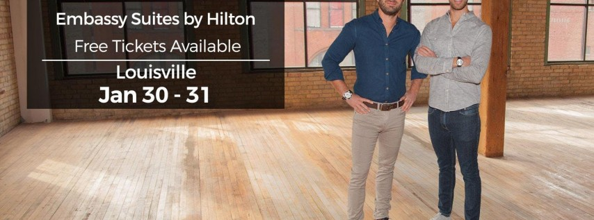 (Free) Millionaire Wealth Real Estate Event in Louisville by HGTV's Drew and Danny