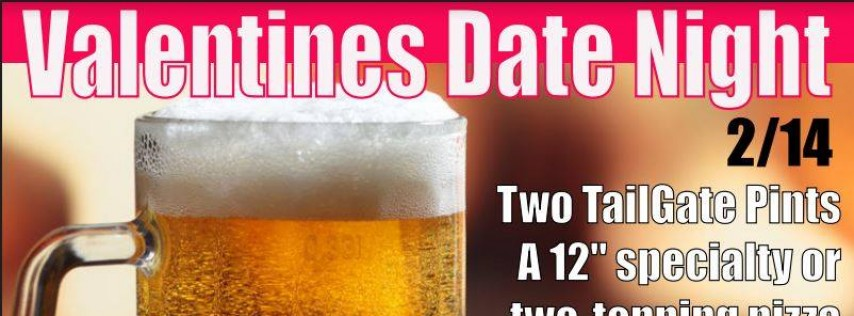 Taproom Valentine's Date Night Special!