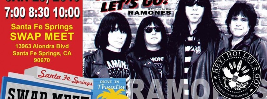 Hey! Ho! Let's Go! Ramones Tribute at Santa Fe Springs Swap Meet