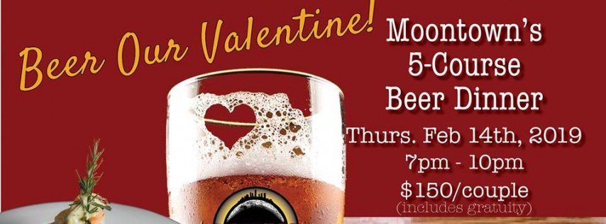 Valentine's Day: 5-Course Beer Pairing Dinner