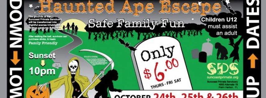 Suncoast Primate Sanctuary Foundation Inc.'s Haunted Ape Escape