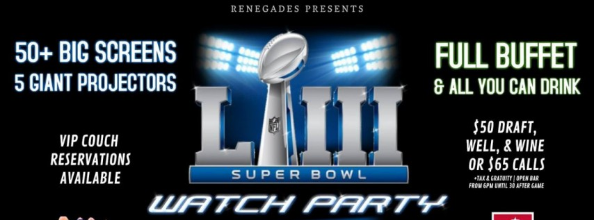 Super Bowl LIII Watch Party