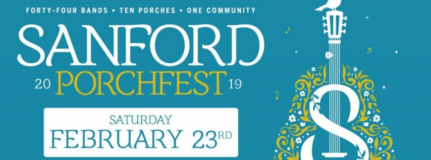 2nd Annual Sanford Porchfest Music Festival