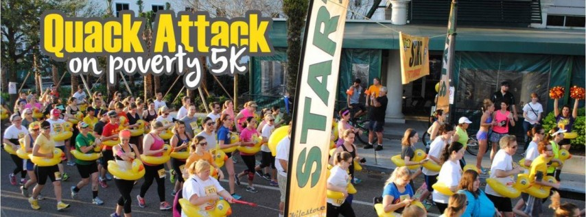 6th Annual Quack Attack on Poverty 5k