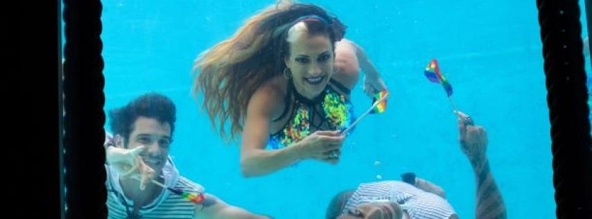 The Wreck Bar presents Sirens & Sailors, an underwater burlesque show