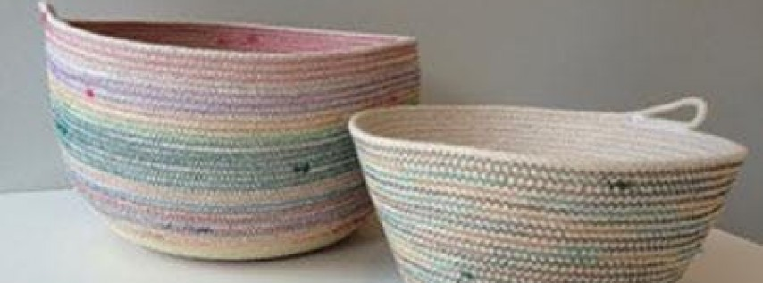 Sewing a Rope Basket