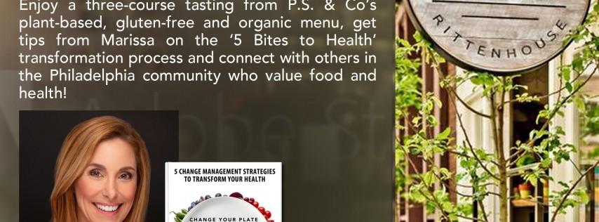 Change BITES Book Signing/Organic Tasting