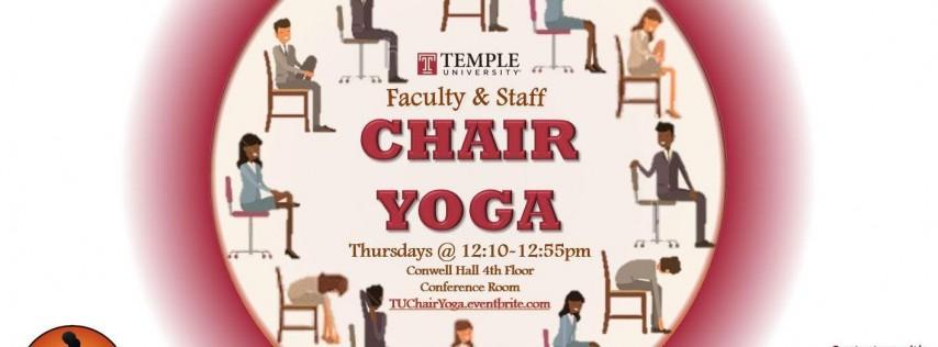 TU Faculty & Staff Chair Yoga Thursdays