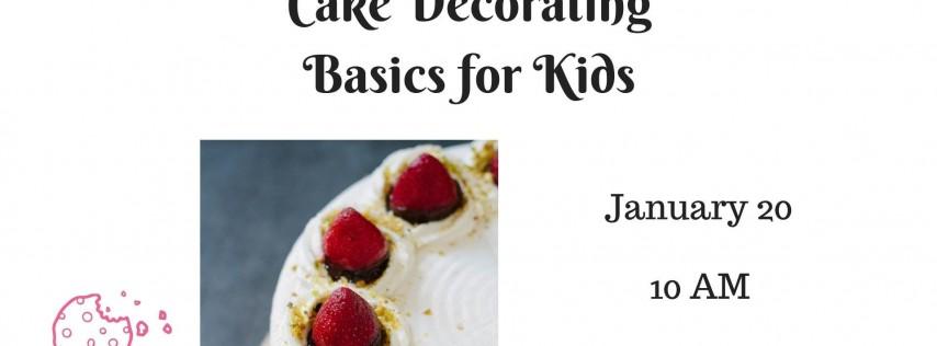 Cake Decorating Basics for Kids