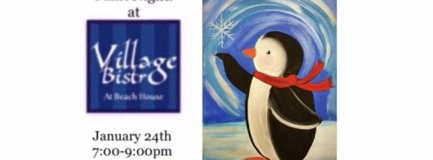 Paint Night at Village Bistro 1/24