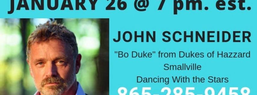 John Schneider w/ Special guest Cody McCarver