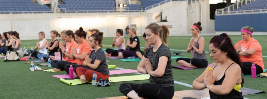 Wednesday WINE: Yoga on the Field
