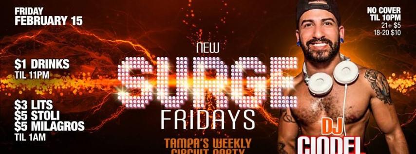 2.15.19 Surge Fridays with DJ Cindel