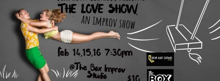 The Love Show 2019, an Improv Show