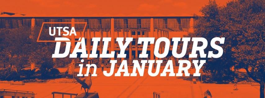 UTSA Daily Tours - January 2019