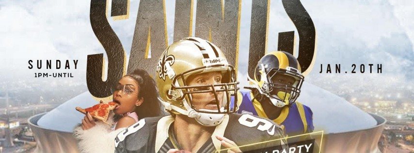 ((THE 5TH QUARTER DAY PARTY)) SAINTS VS RAMS GAME WATCH PARTY + AFTER GAME VICTORY PARTY @ REPUBLIC NOLA