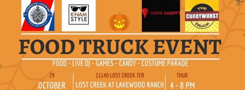 Lost Creek Halloween Food Truck Event