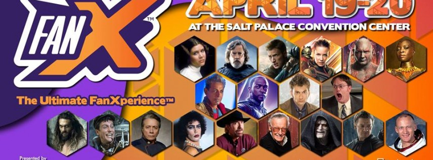 FanX® Spring 2019 - Official Event Page