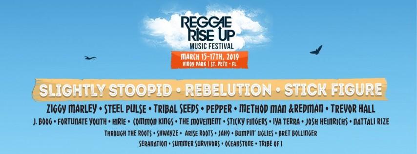 Reggae Rise Up Florida Festival 2019