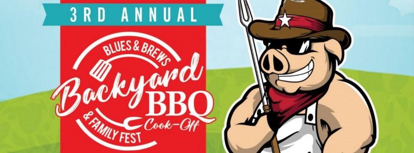 3rd Annual Blues & Brews Backyard BBQ Cook-Off & Family Fest