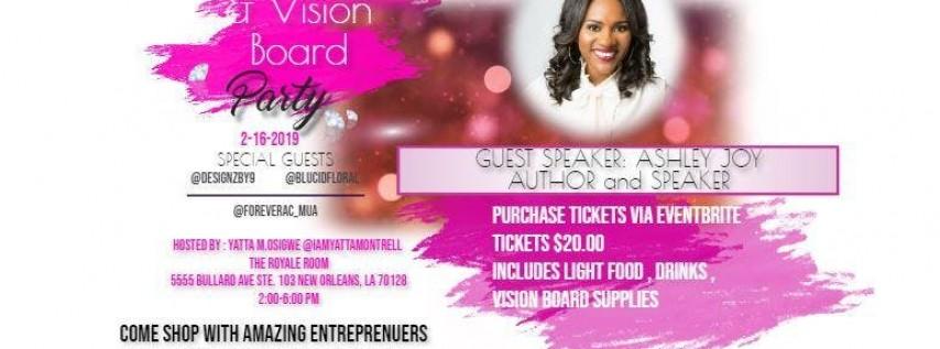 Vision Board Party/Pop Up Shop