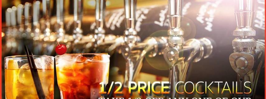 Half Price Craft Cocktails: Art Co's Weekly Drink Specials
