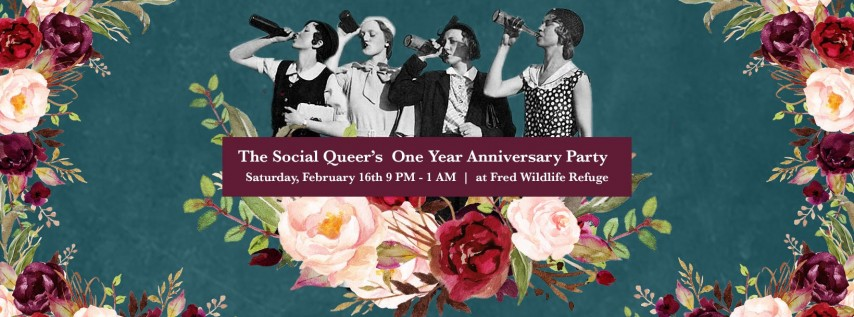The Social Queer's Queer Womxn's Galantine Dance Party