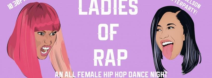 Ladies of Rap - Female Hip Hop Artists Dance Party