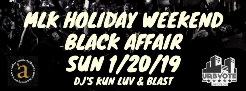 MLK Holiday Weekend Party - No Cover Available
