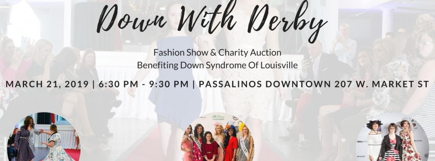 2019 Downs With Derby Fashion Show & Charity Auction