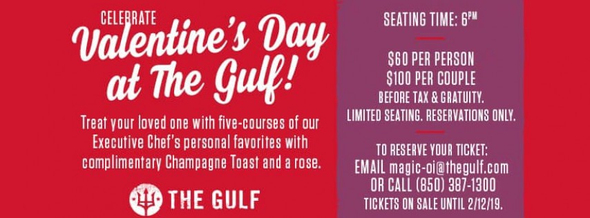 Valentine's Day at The Gulf, Okaloosa