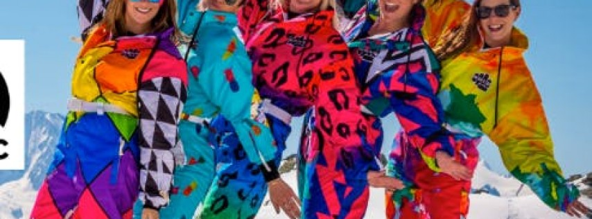 Retro 80's Ski Lodge Party