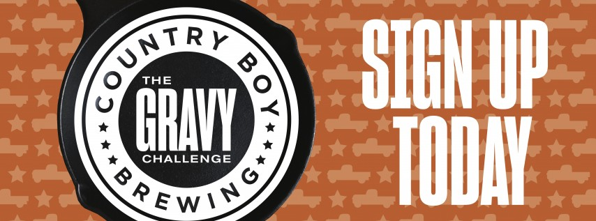 Country Boy Brewing:  The Gravy Challenge