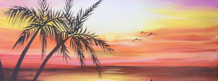 You Can Paint! Sip n Paint Party at Studios of Cocoa Beach