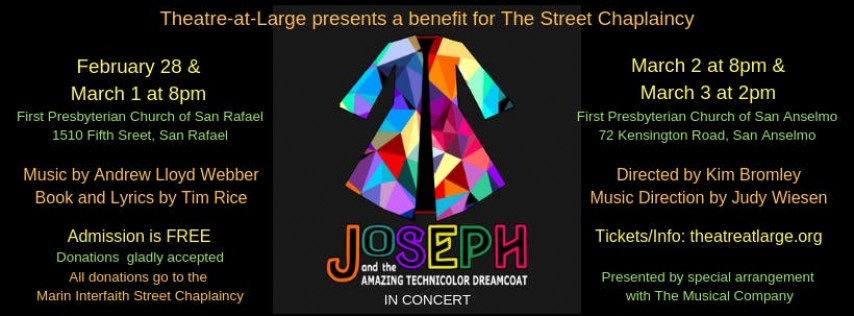Joseph and the Amazing Technicolor Dreamcoat-Presented by Theatre-at-Large