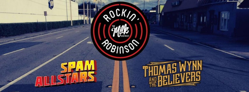 Rockin Robinson in Milk District
