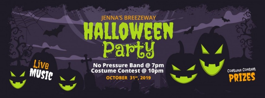 Halloween Party at Jenna's Breezeway