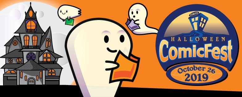 Halloween Comic Fest & Costume Contest Sat Oct 26th Free Comics!