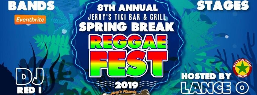 Jerry's Tiki Bar 8th Annual Spring Break Reggae Festival