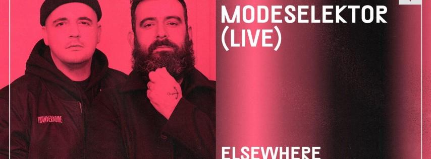 Modeselektor (Live) @ Elsewhere (Hall)