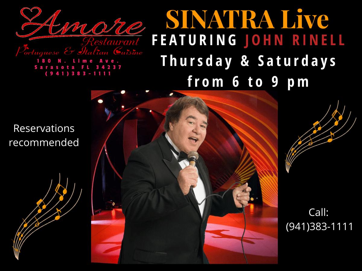 Frank Sinatra Live (Featuring John Rinell)