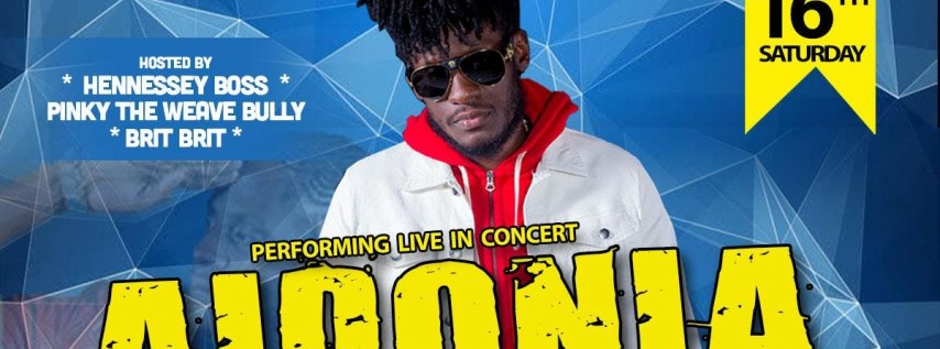 Aidonia Live in Concert